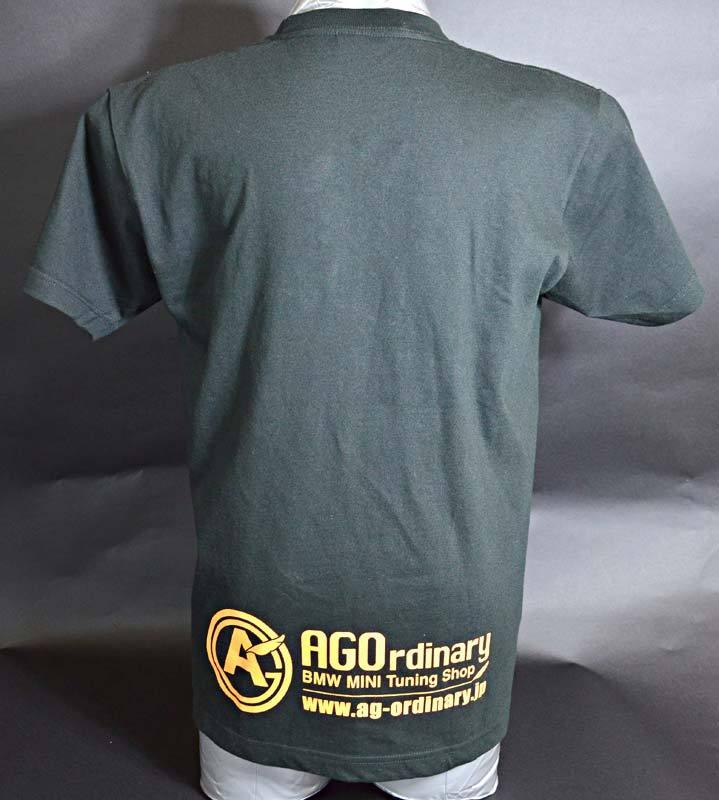 AGOロゴプリント オリジナルTシャツ black - 画像2