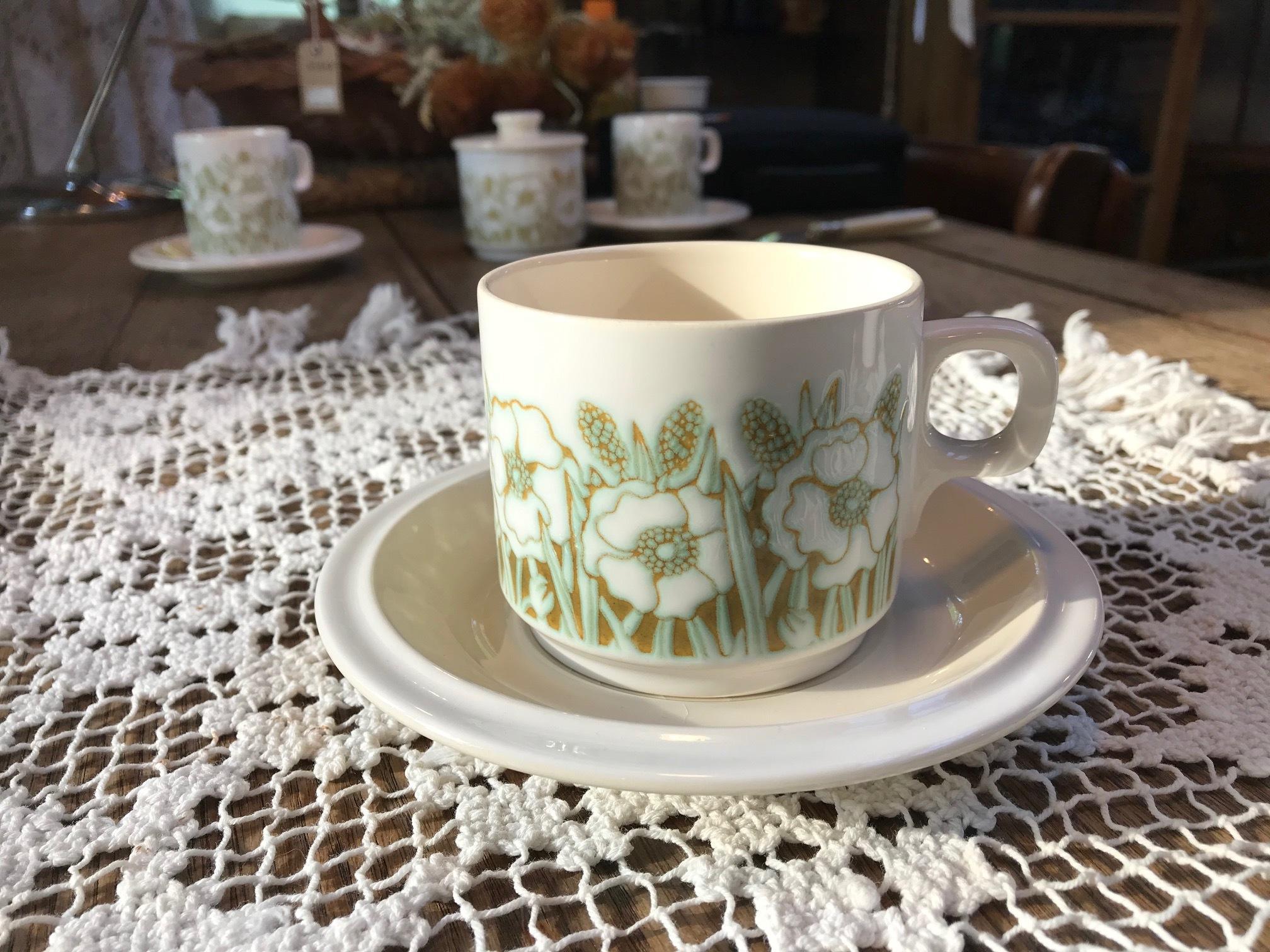 Hornsea fleur <ホーンジー> コーヒーカップ&ソーサー B