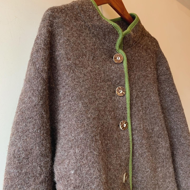 vintage wool tyrol cardigan《STAPE》