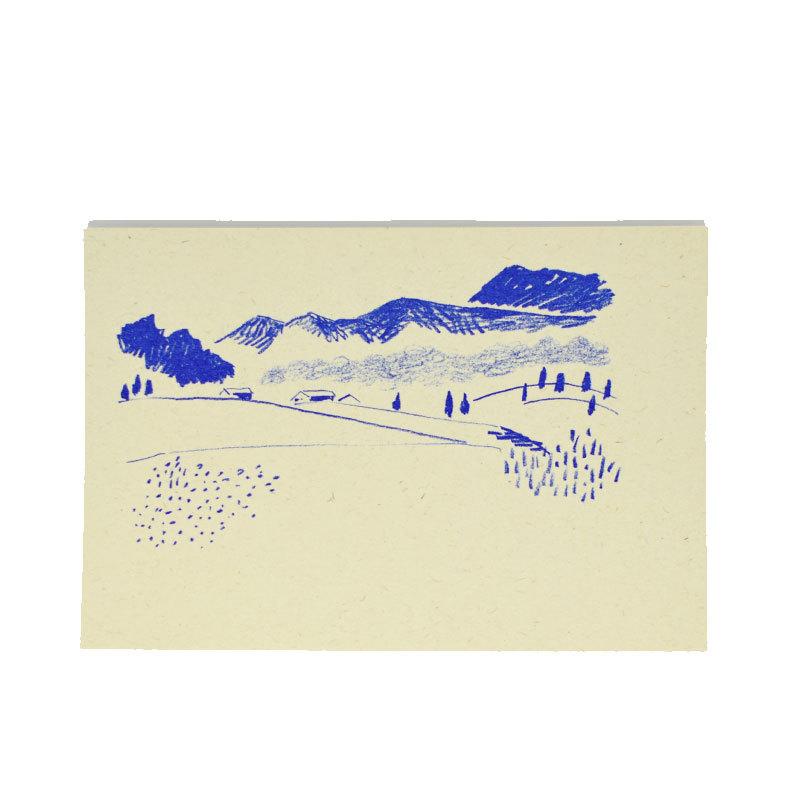 HIGASHI ALPS(ヒガシアルプス)ポストカード 風景