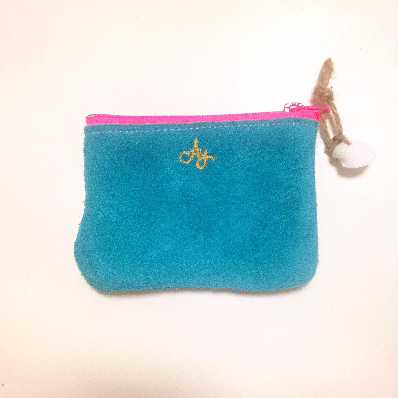 mini pouch -skyblue-