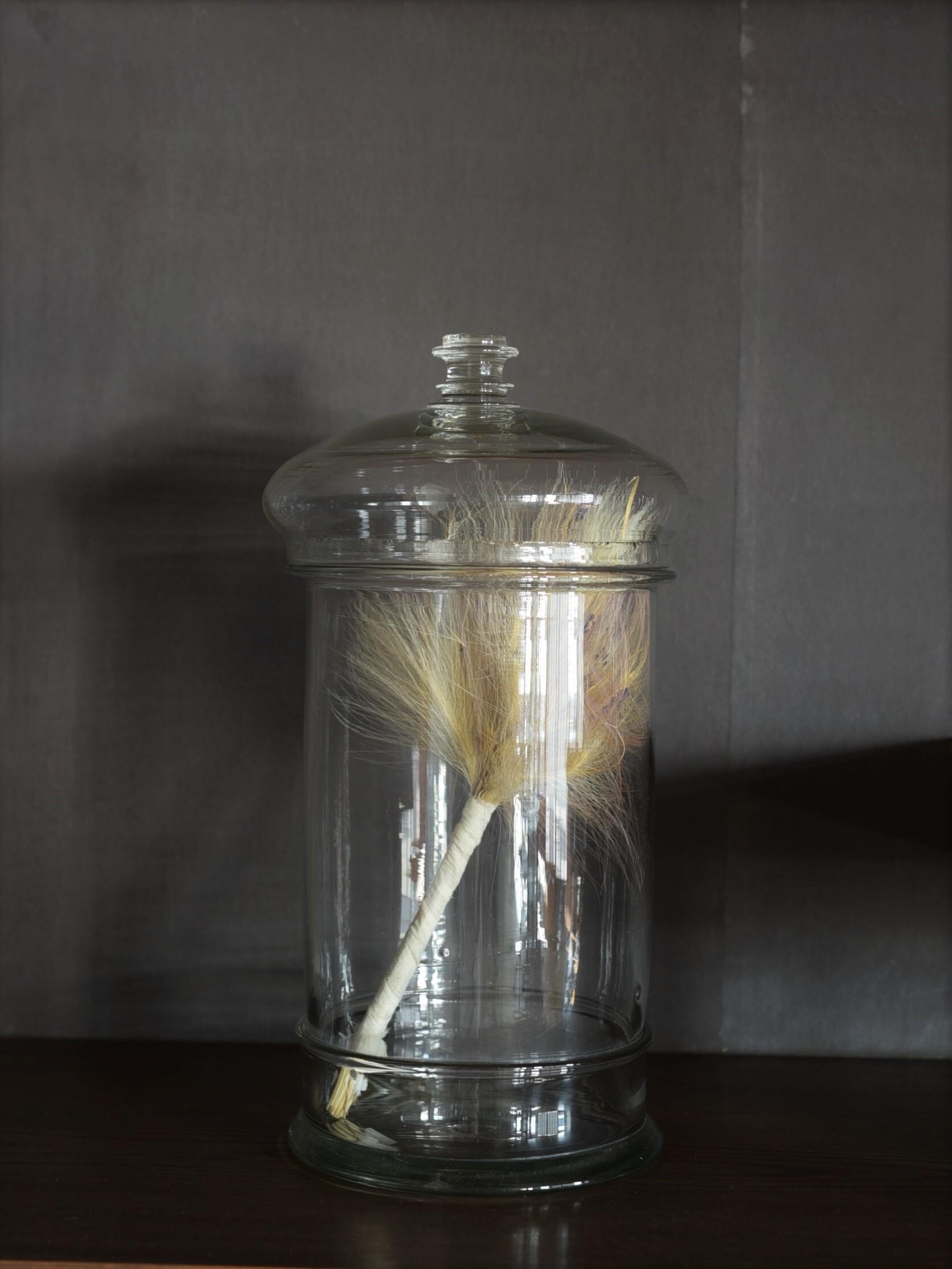 antique | キャンディーガラス瓶-candy glass bottle
