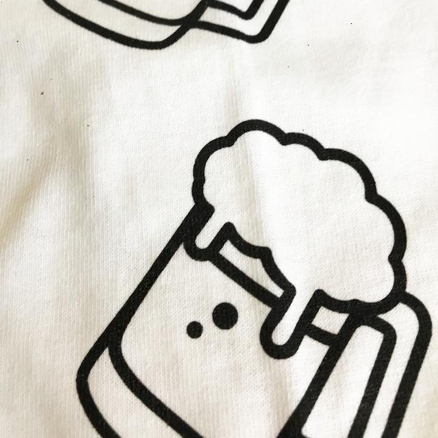 ビール ロングスリーブTシャツ(白) - 画像5