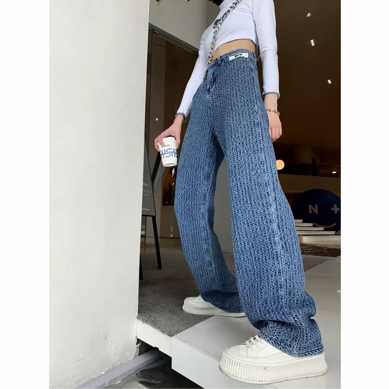 pocket label wide pants