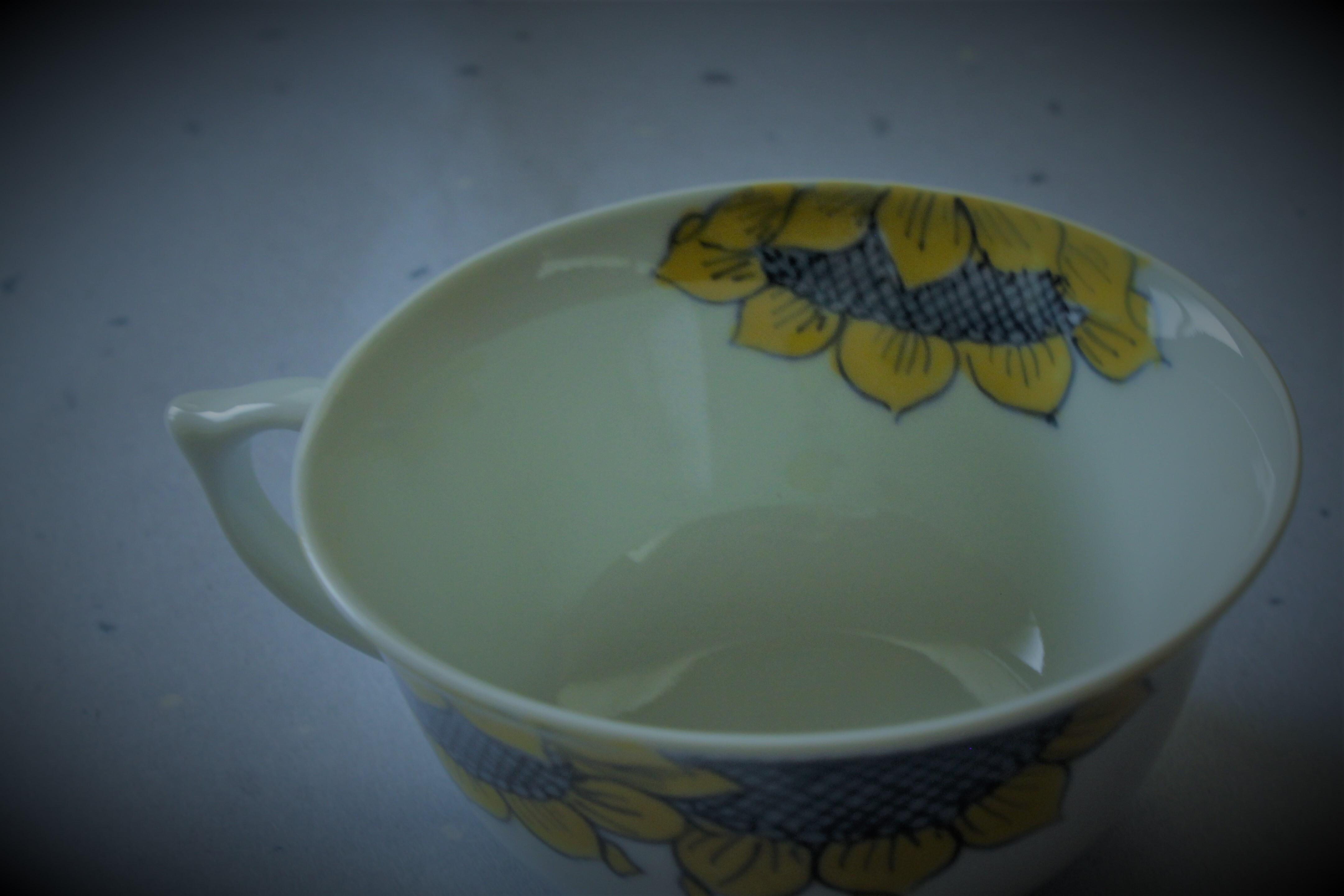 ひまわりティーカップ