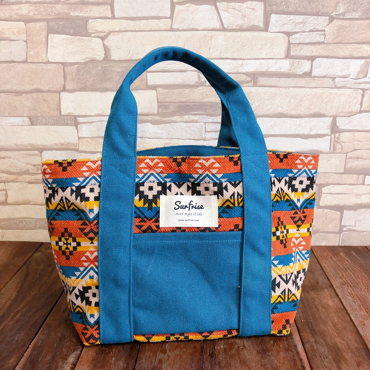 Camp Tote bag S - Blue