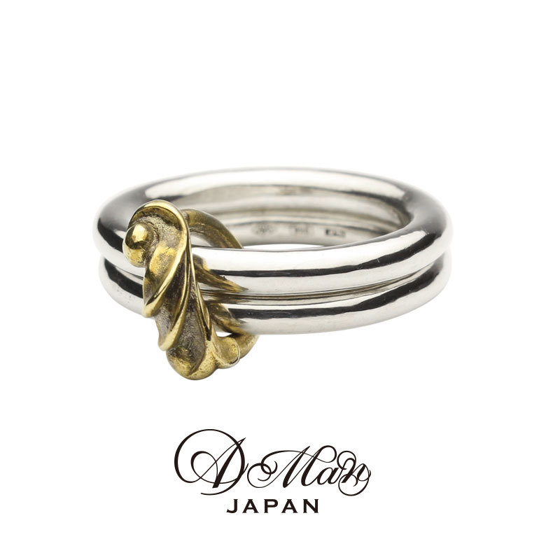 A Man Acanthus Two Links Ring エーエムエーエヌ アカンサスツーリンクスリング