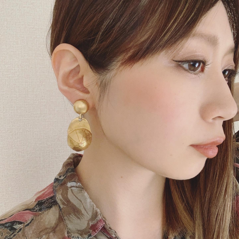vintage DKNY earring