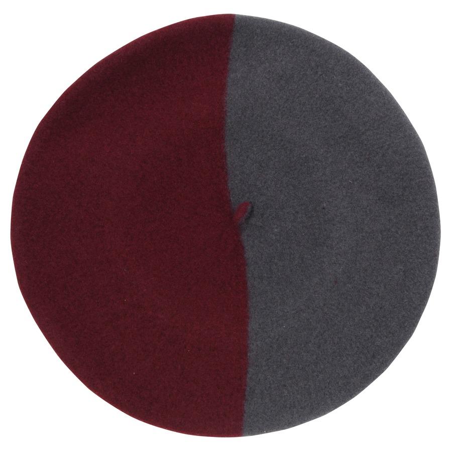 バスク帽 GRAY/D-RED(サイズ12 / 13.5) TDB-09