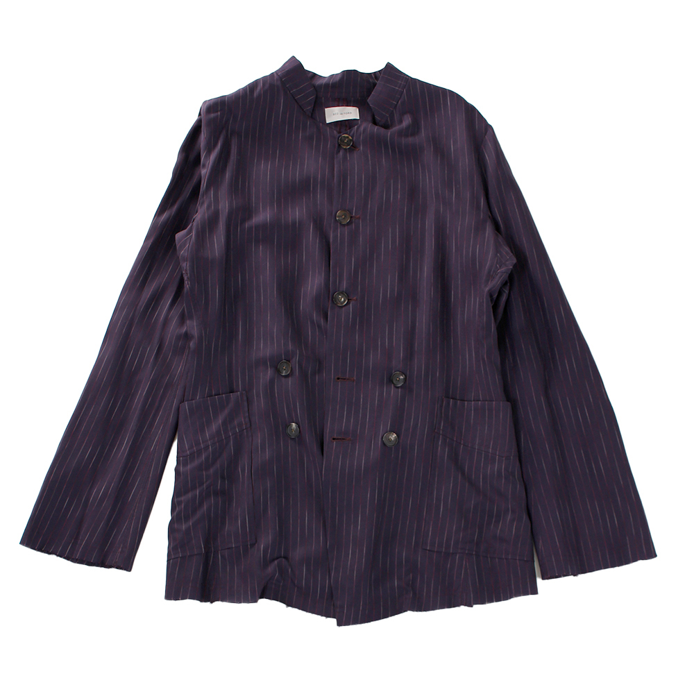 BED J.W. FORD Stripe Jacket Purple