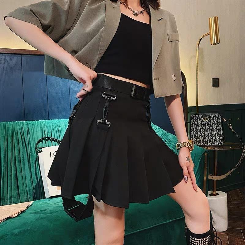 street flare skirt