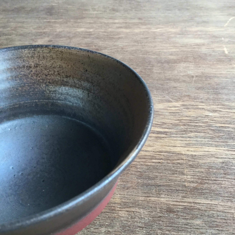 【菊地亨】 碗(白土) 400 φ12.5㎝×h7.5㎝ 24 - 画像3
