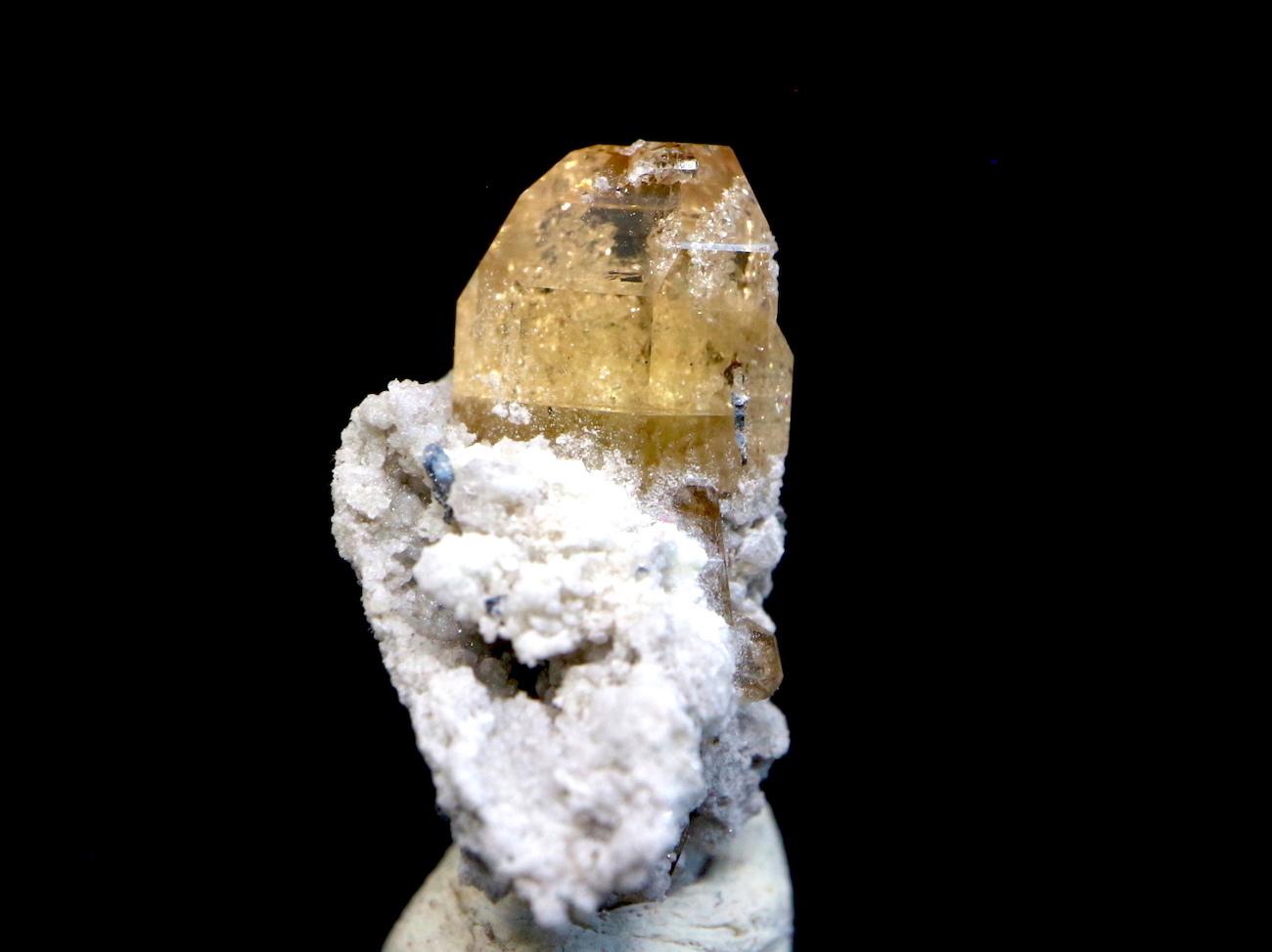 自主採掘!ユタ州産 トパーズ 1,5g 原石 標本 TZ028