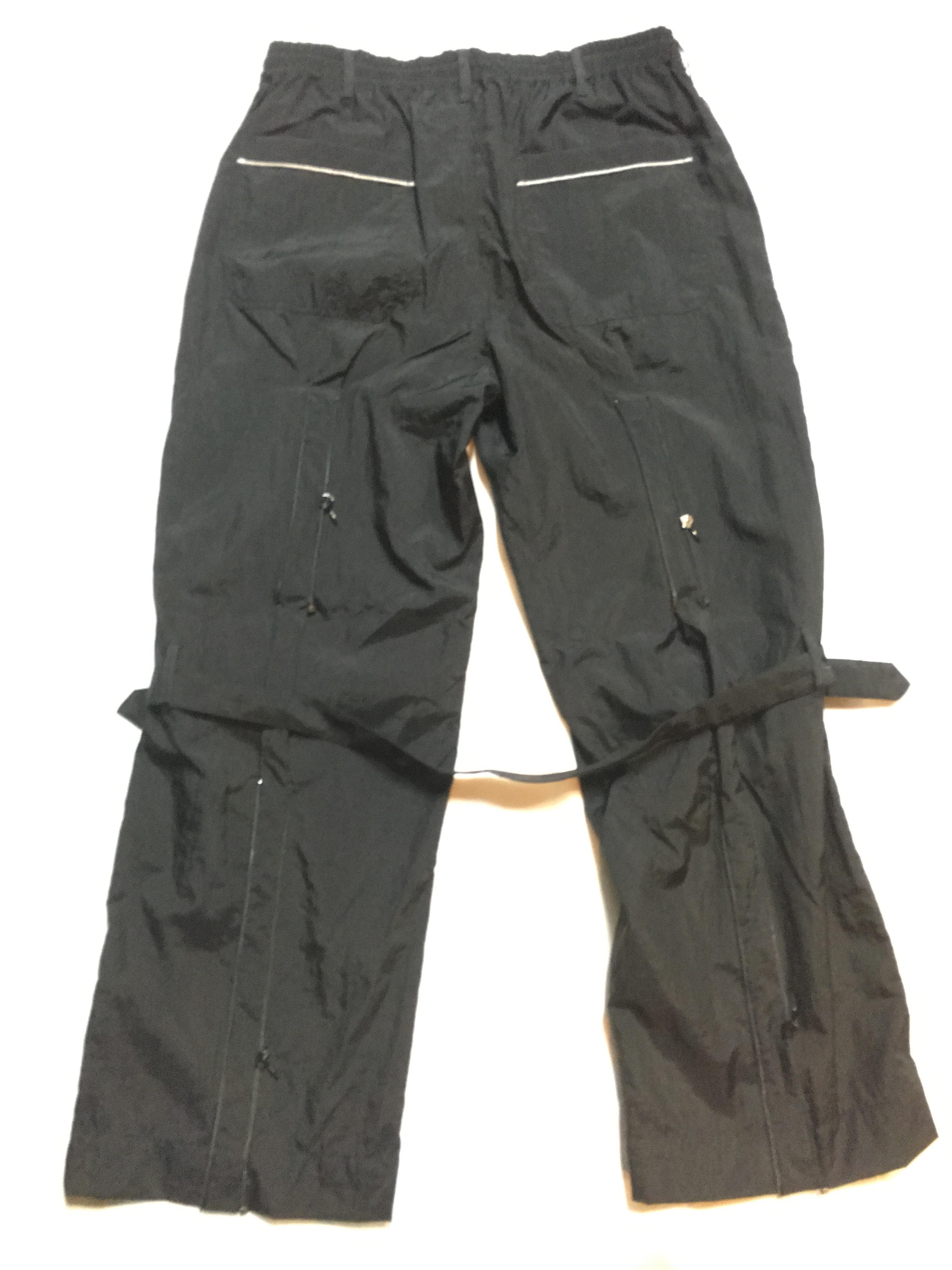 SKIN / nylon bondage pants(blk) - 画像2