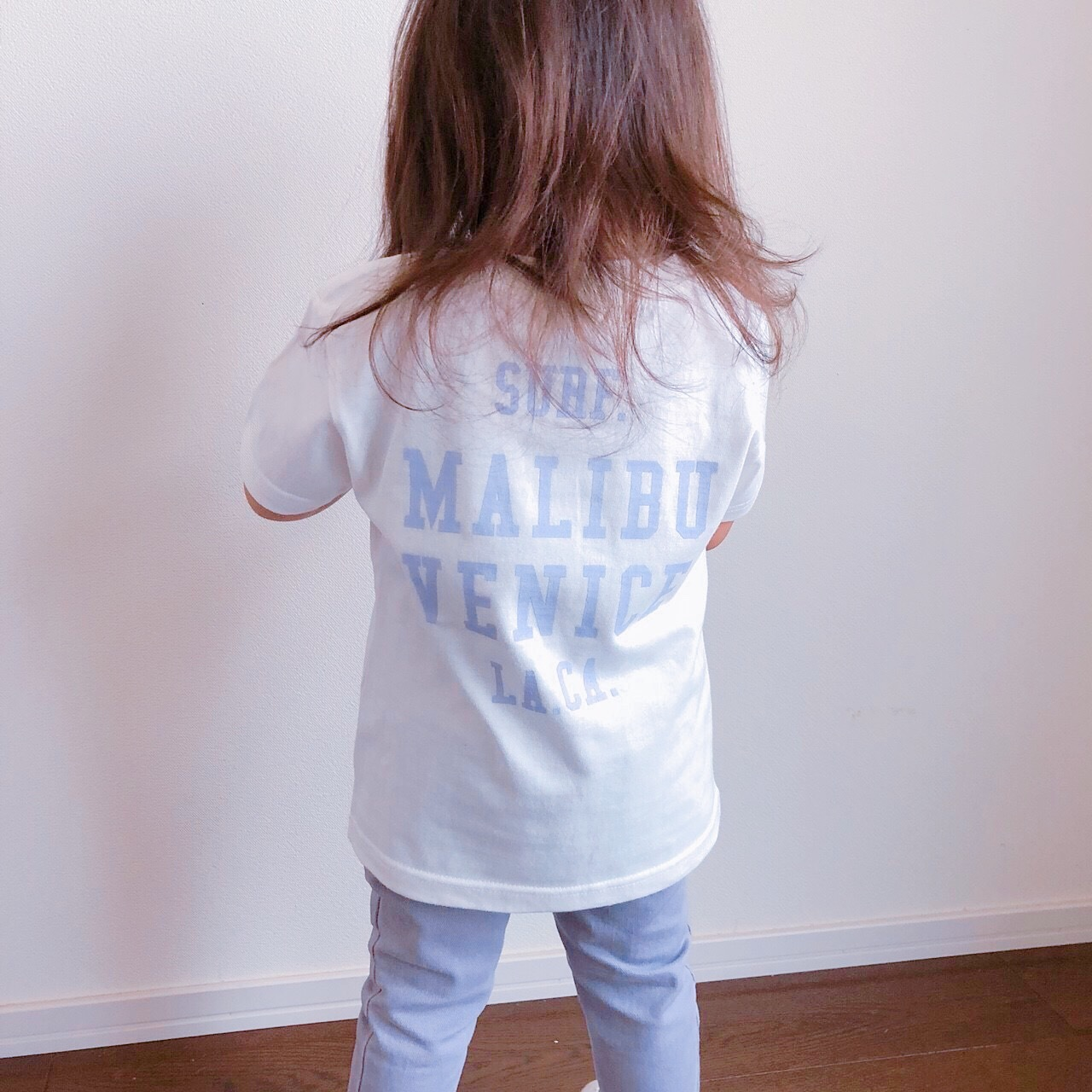★Kids★ SURF. Tee - Vanilla white
