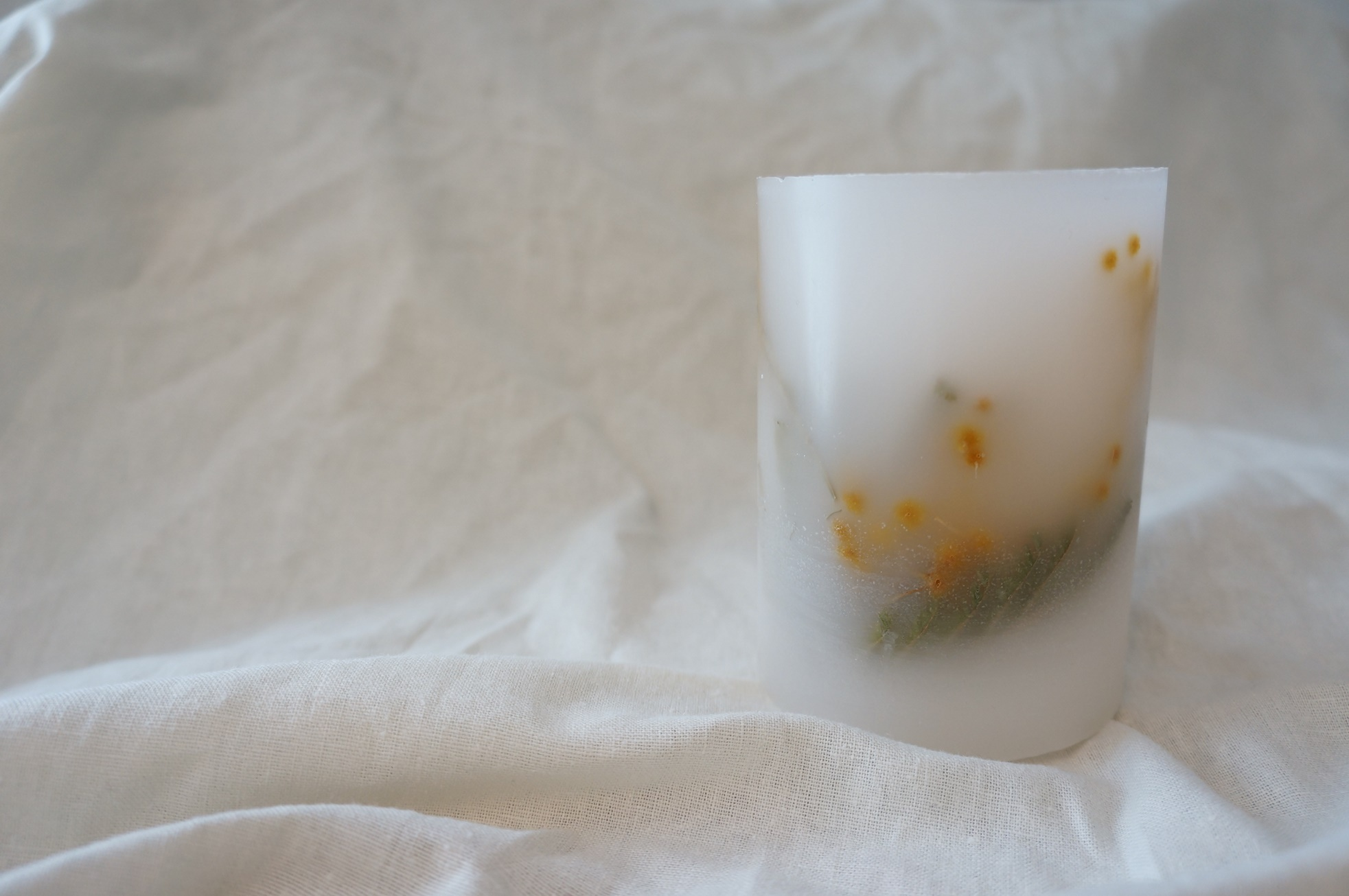 Botanical candle    no.002