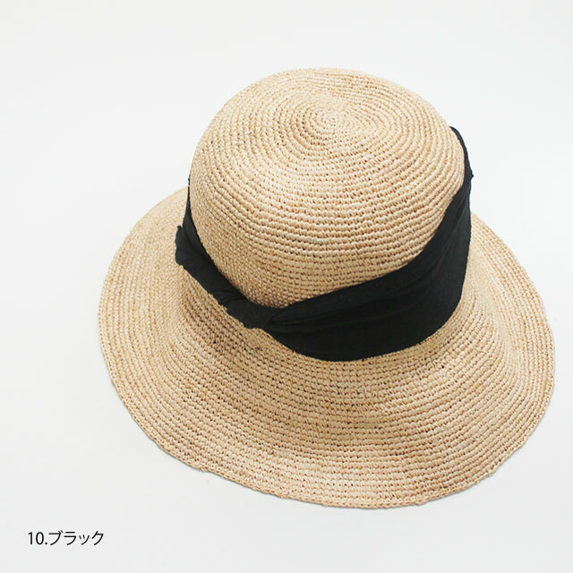 prit プリット ラフィアハット レディース 麦わら帽子 ハット リボン 日除け 通販 (品番02921)