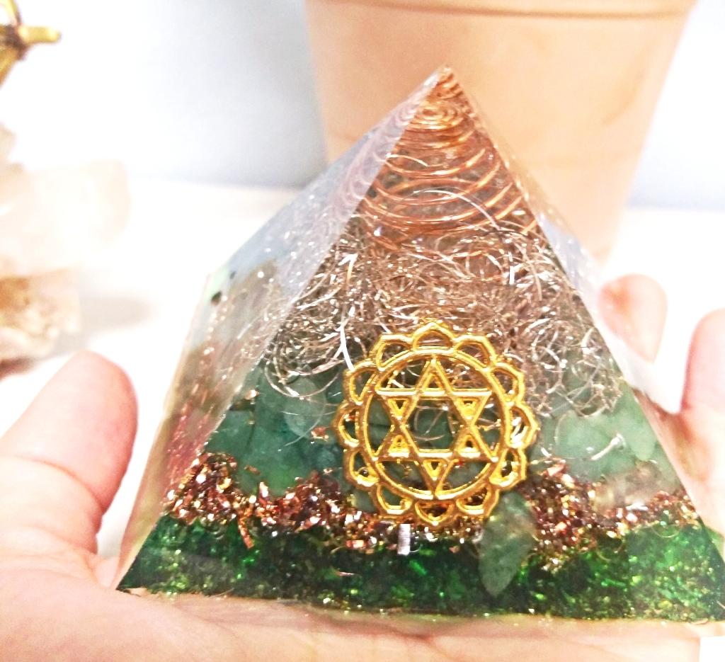 6月2日(土)UOAオルゴナイト中級講座【ピラミッド】