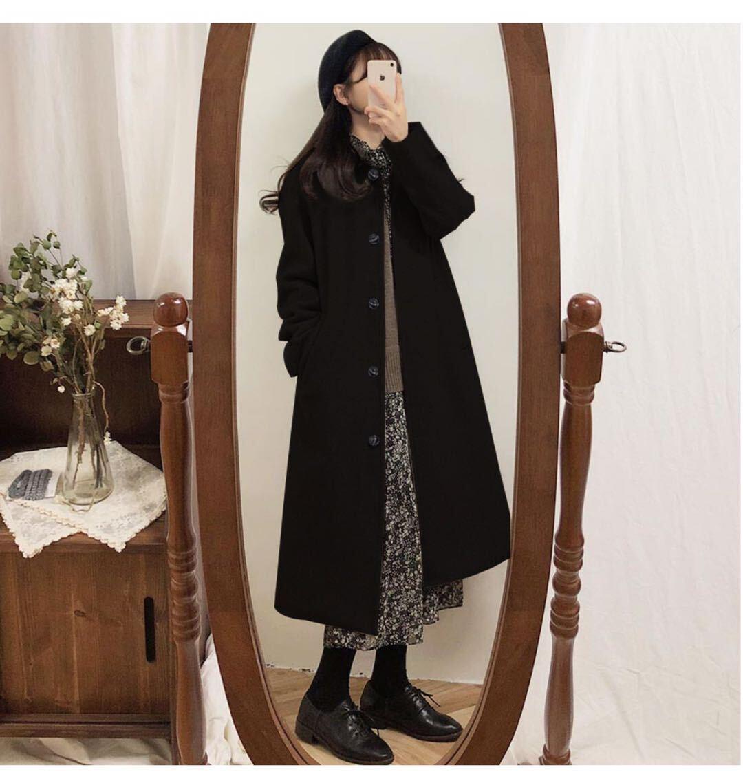 ヘップバーンブラックコート【Hepburn black cort】
