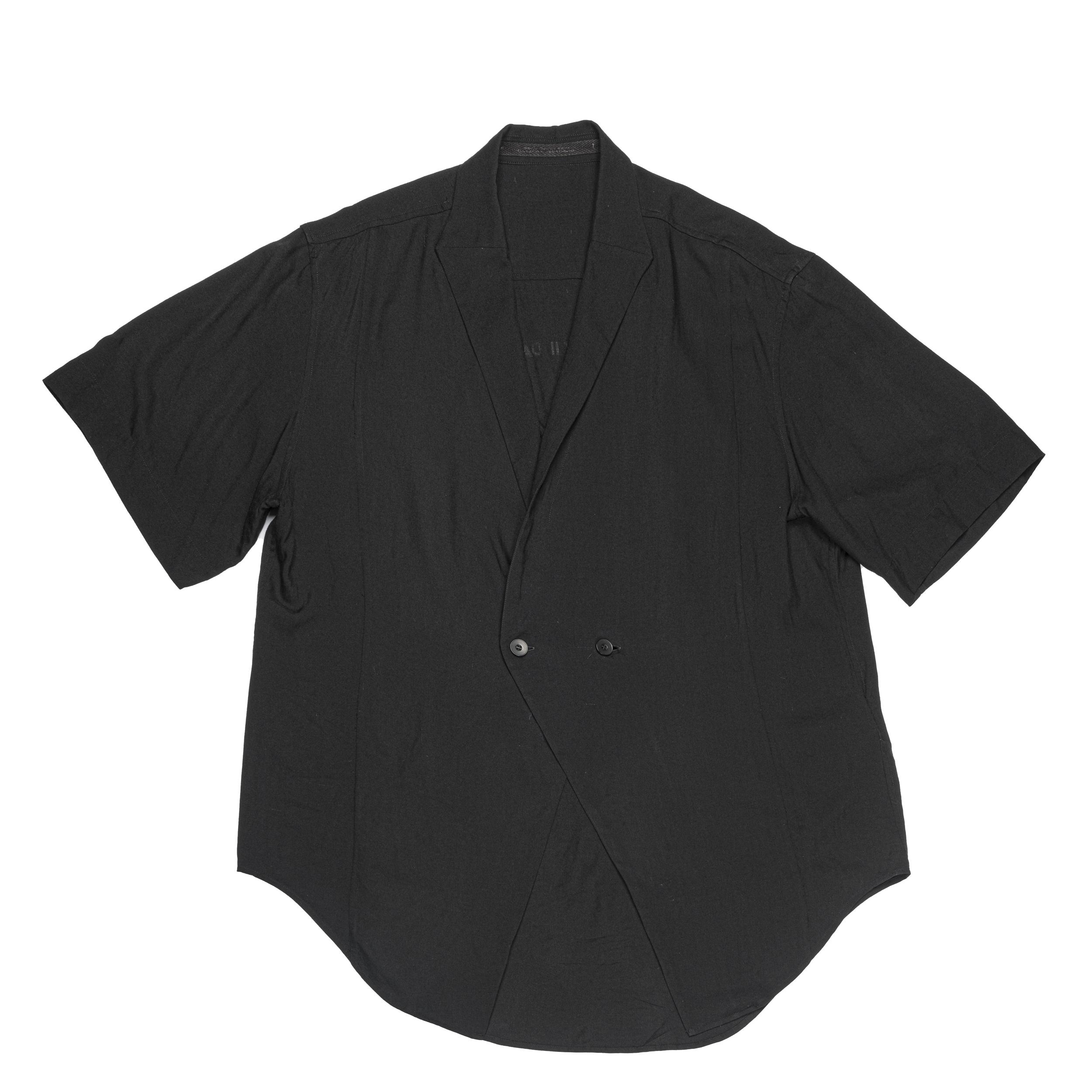 667SHM3-BLACK / ローゼンジカラーシャツ
