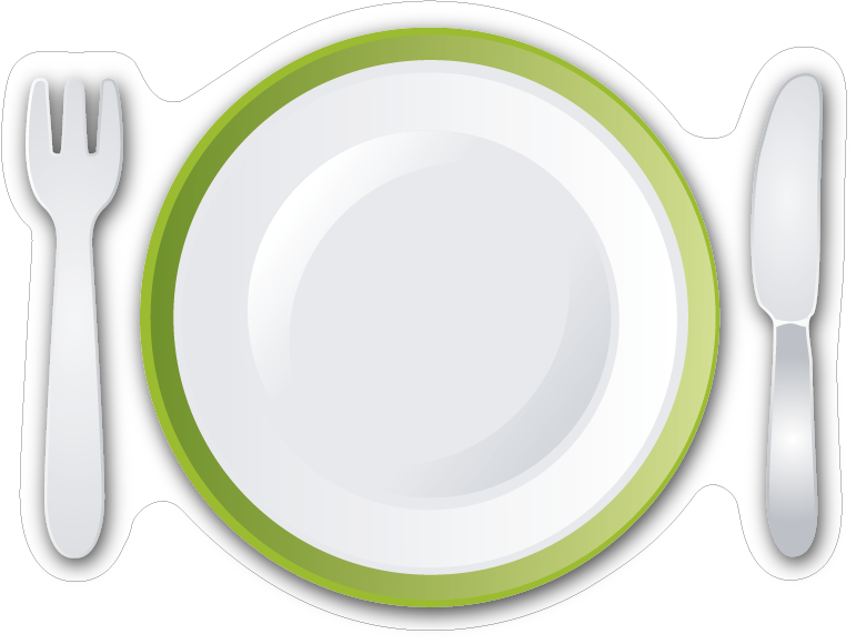 冷蔵庫マグネットホワイトボード(お皿)