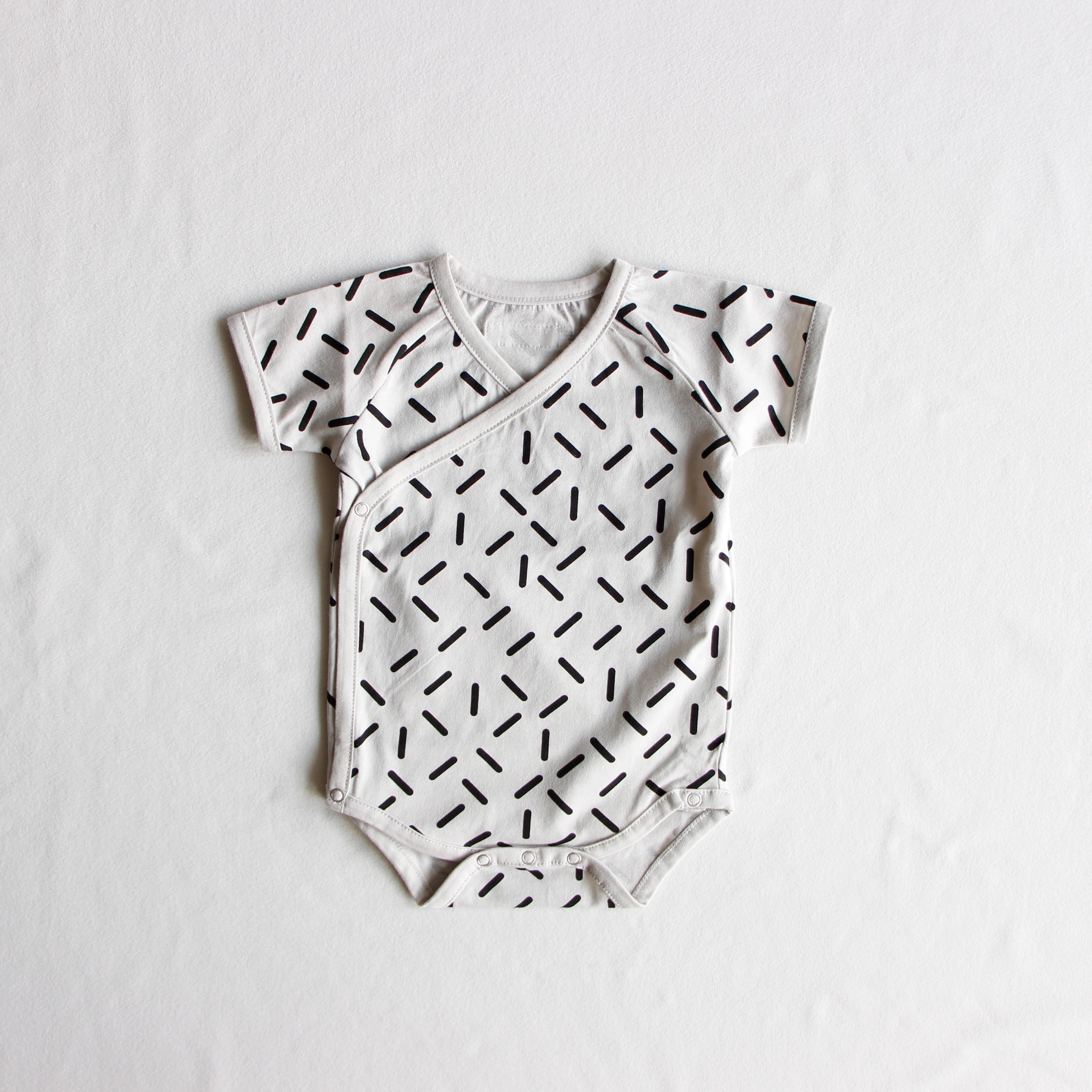 《chocolatesoup》GEOMETRY rompers / stick / one size(70-80cm)