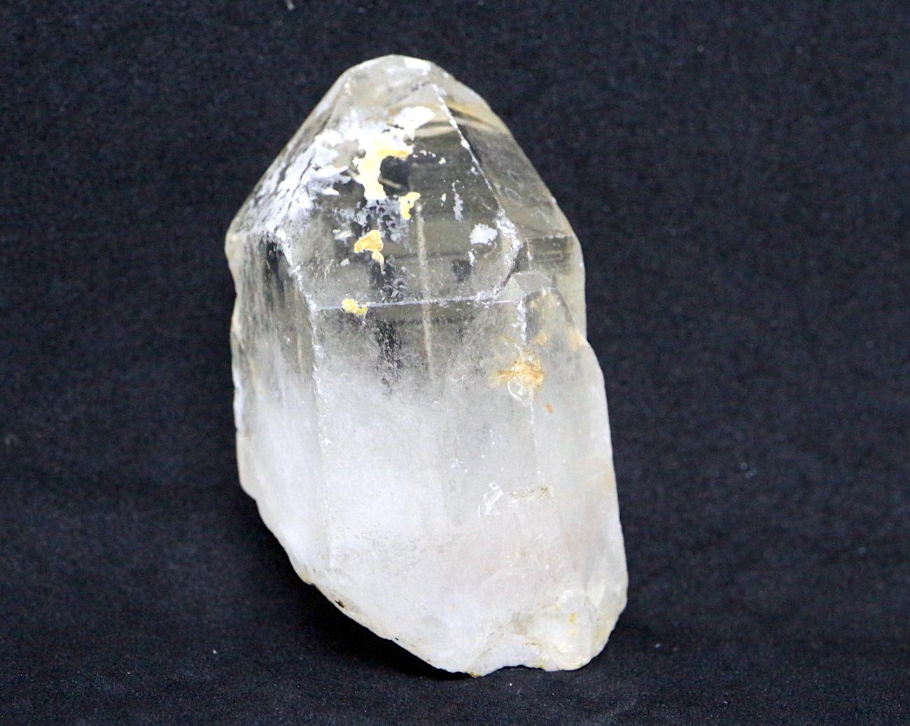 カリフォルニア産 自主採掘 クォーツ 水晶 ポイント QZ018