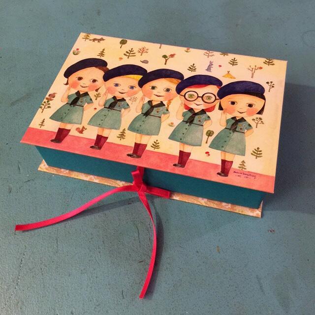 BOOK BOX ガールスカウト