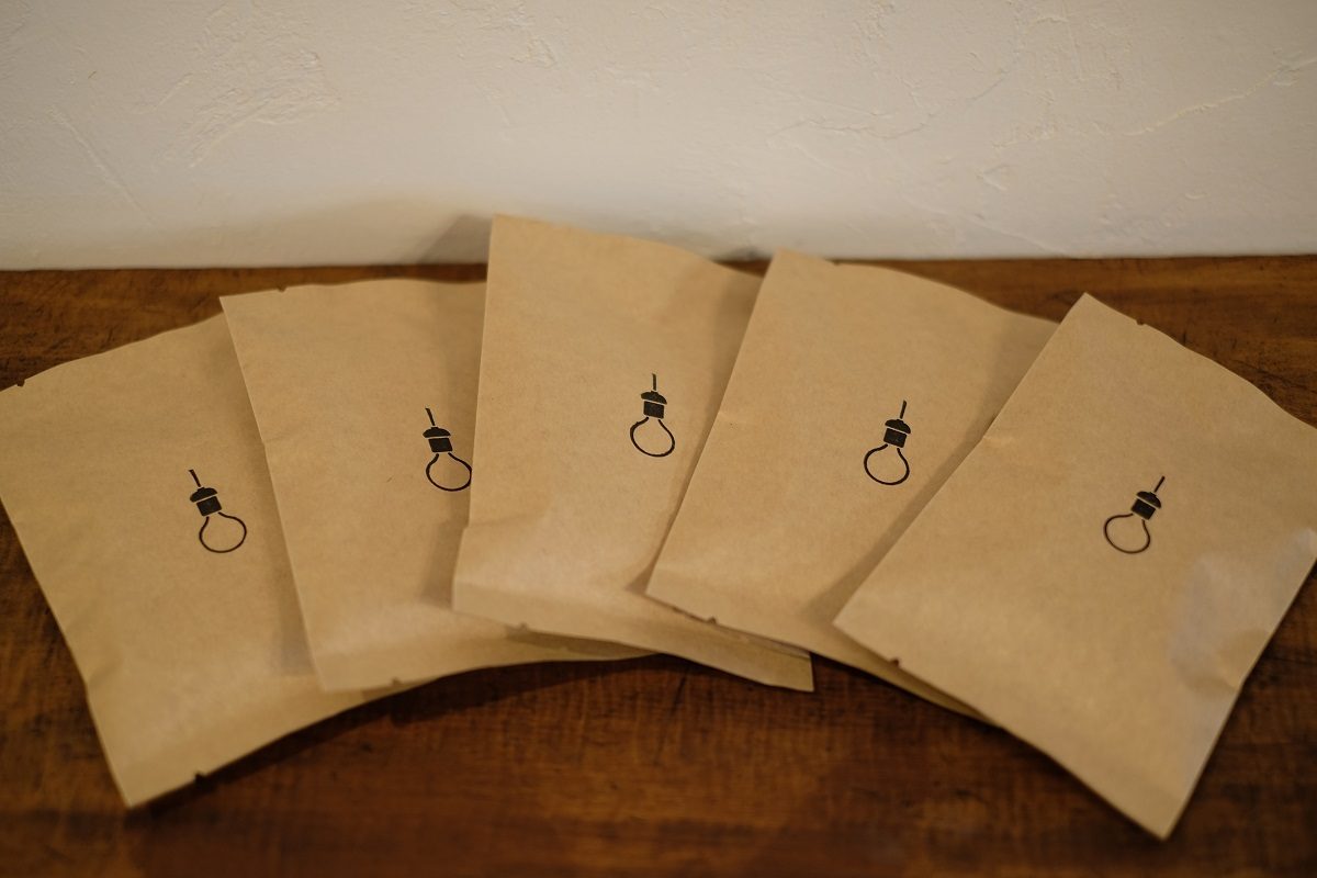 【online shop限定セット】水出しコーヒーバッグ 約5杯分×5個セット