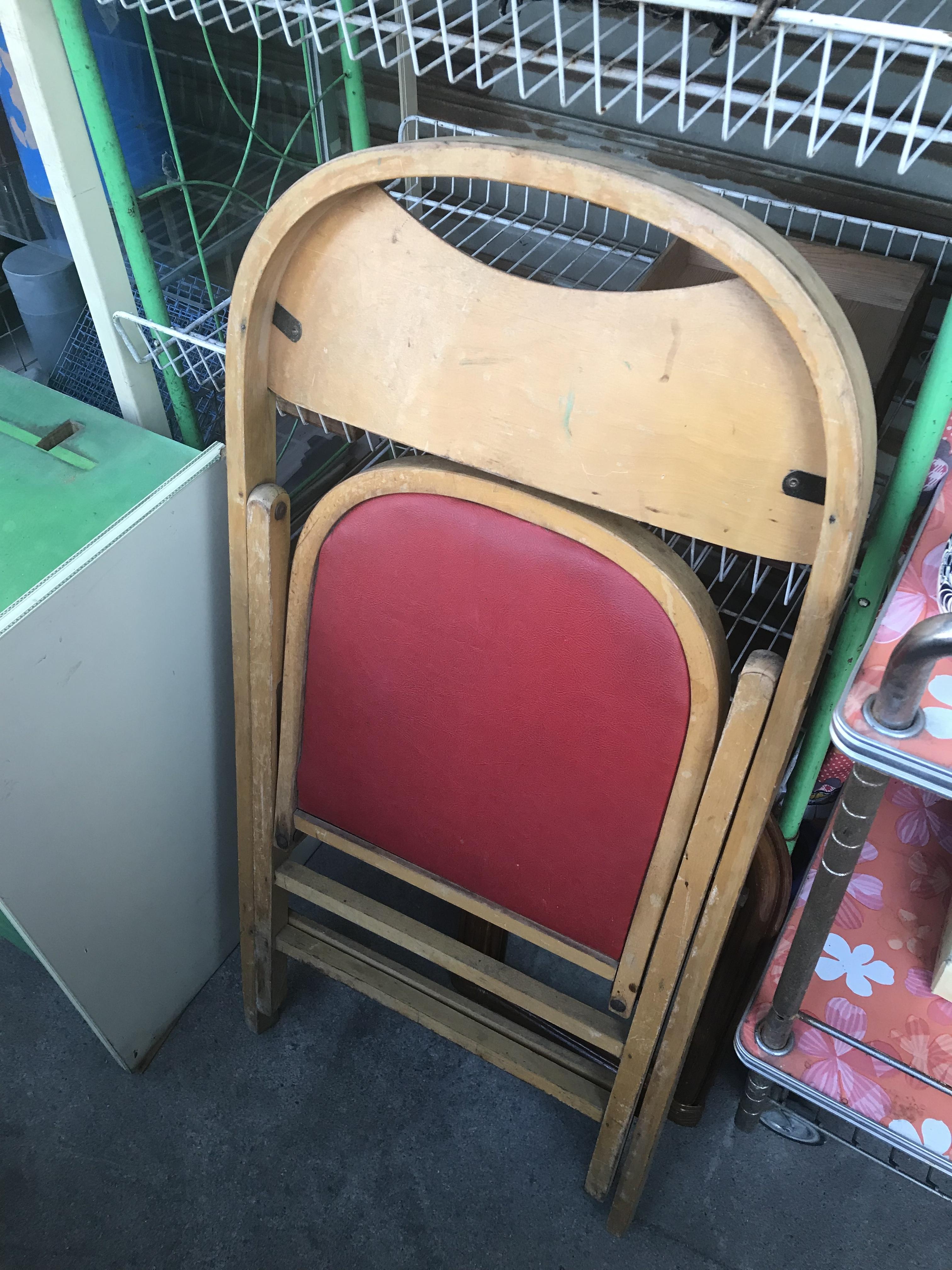 ビンテージ 折りたたみの椅子