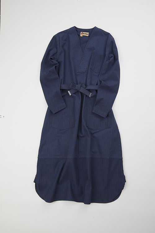 Vネックドレスミックス / V-NECK DRESS MIX