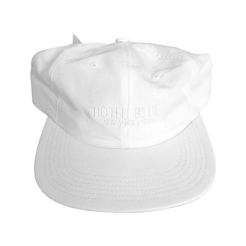 【HOTEL BLUE】LOGO TASLAN CAP WHITE