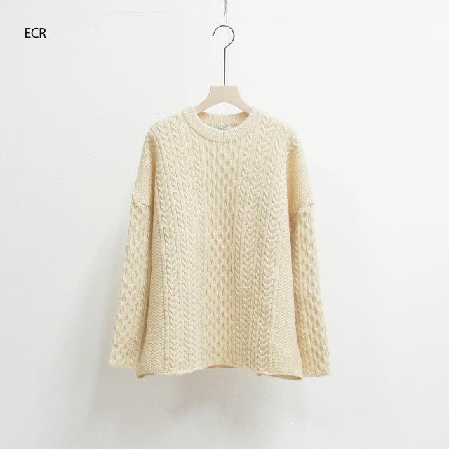 ORDINARY FITS オーディナリーフィッツ CABLE KNIT ケーブルニット (品番of-n013)