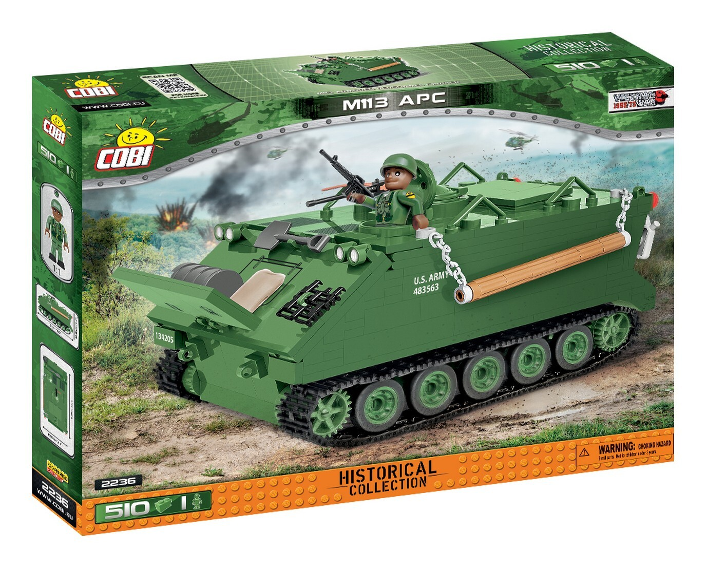 COBI #2236 M113装甲兵員輸送車