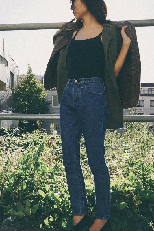 80's khaki jacket