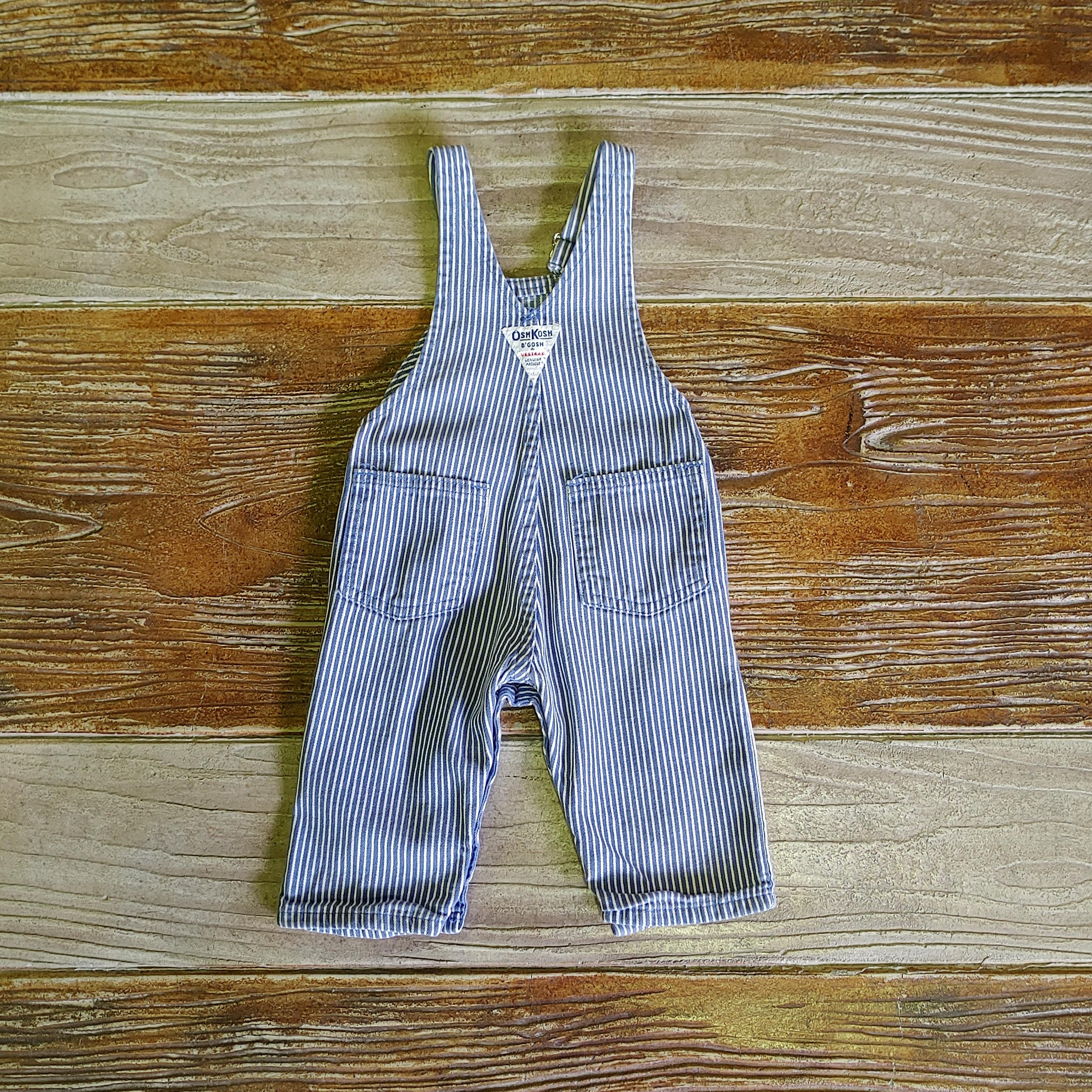 【BABY USED】Oshkosh Overall*3/6M