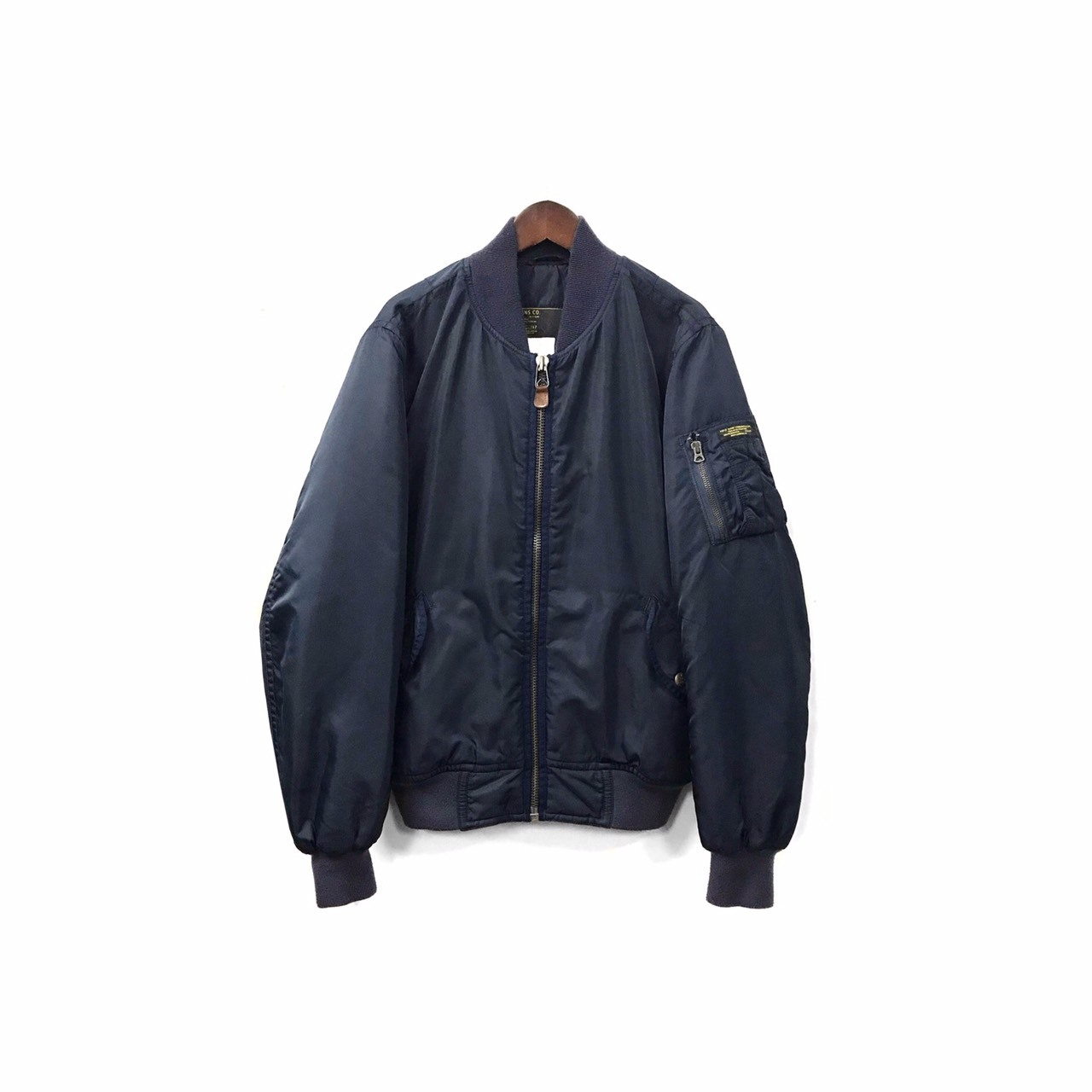 Polo Jeans - Nylon Flight Jacket (size - M) ¥16500+tax → ¥13200+tax
