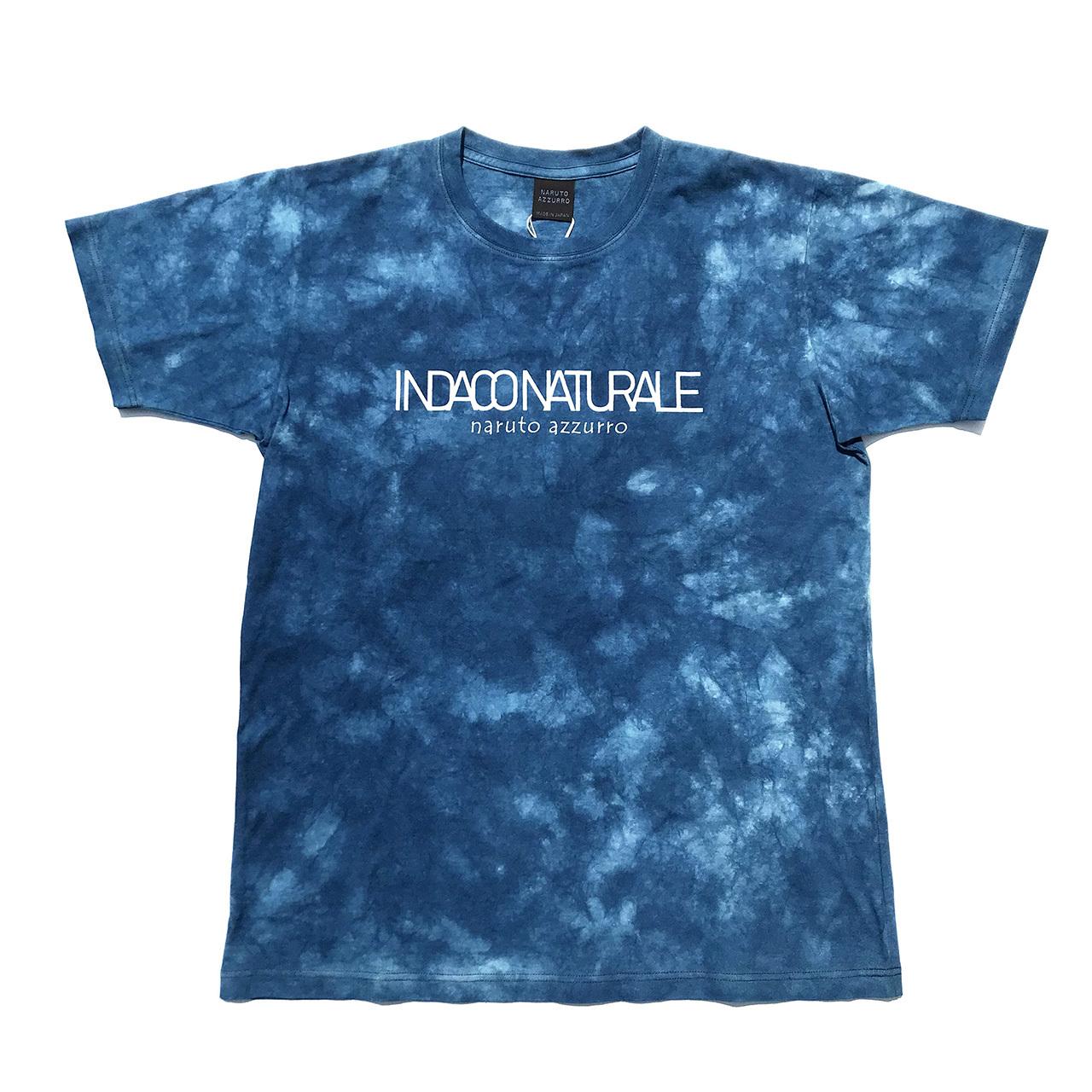 正藍染めムラクモTシャツ