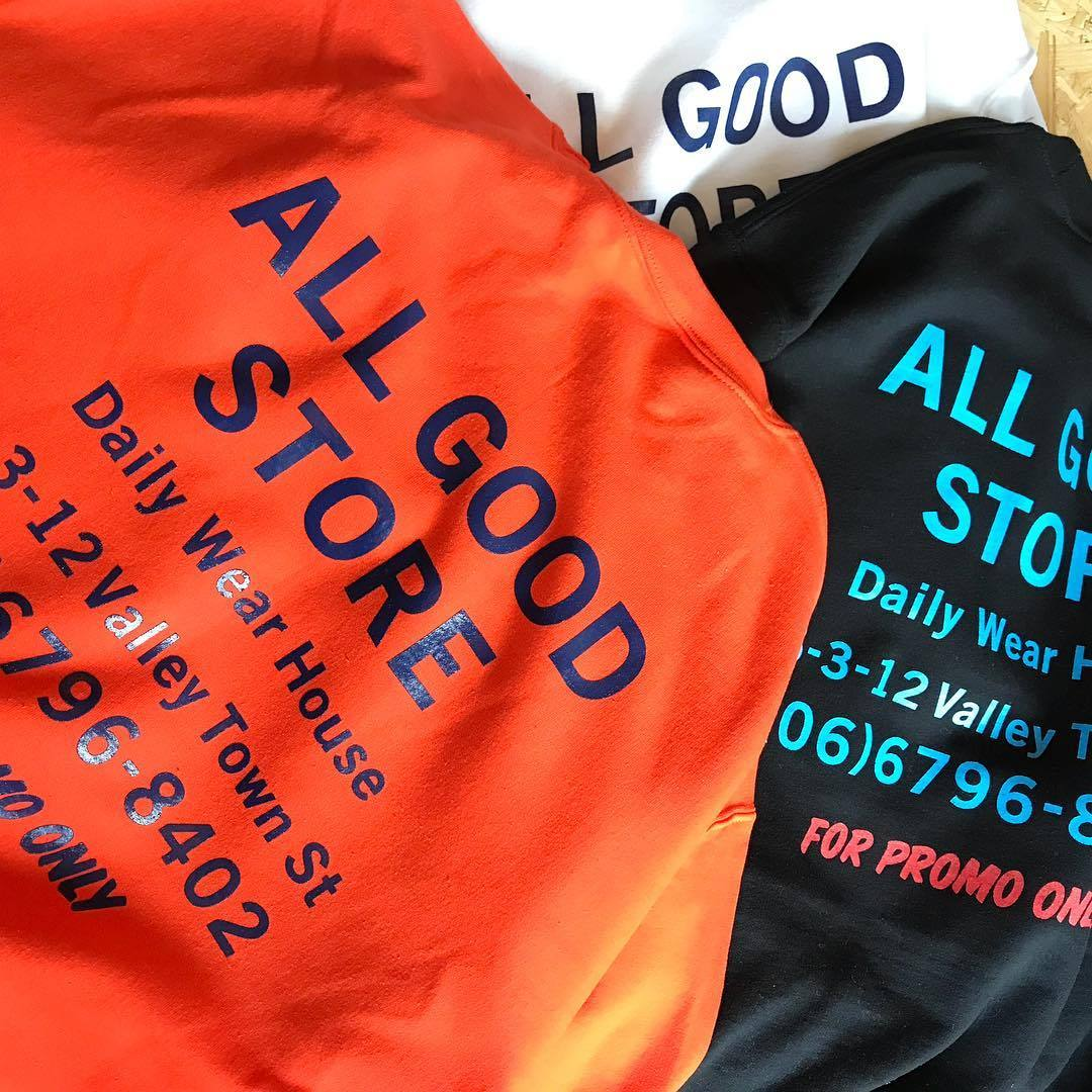 ALL GOOD STORE / FOR PROMO ONLY Sweat (w/MIX CD)