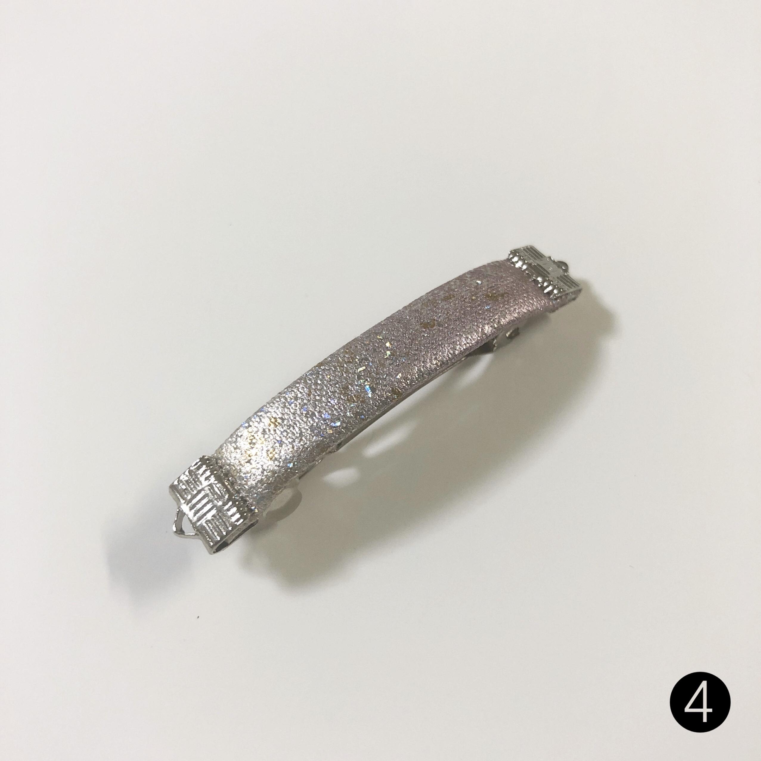 【限定品】ミニバレッタ(5cm/金彩/シルバー)