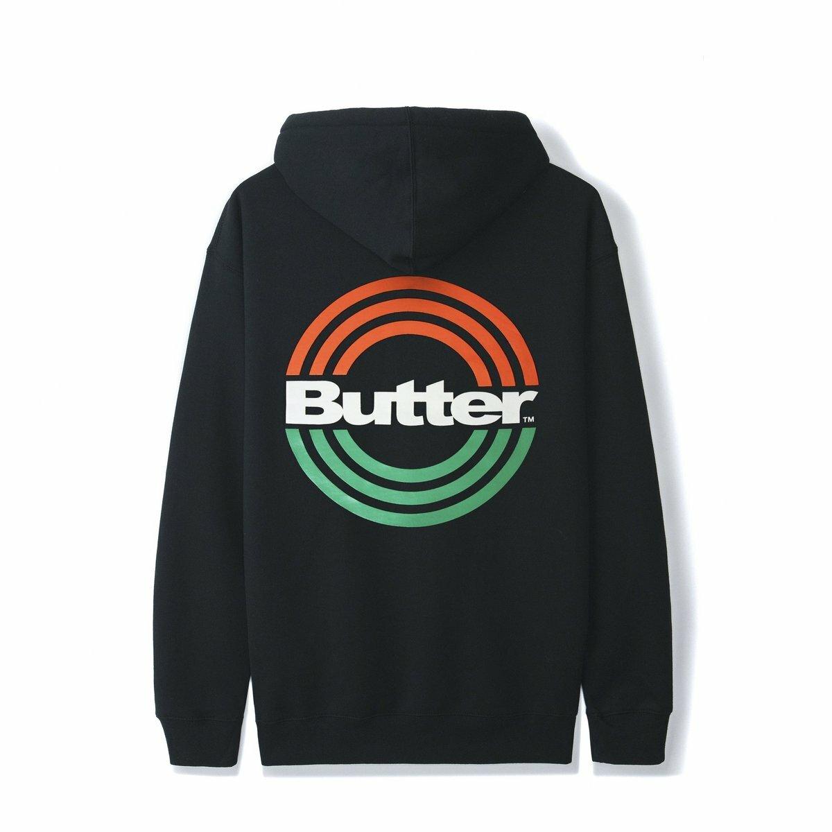 BUTTER GOODS 【STAMP PULLOVER, BLACK】
