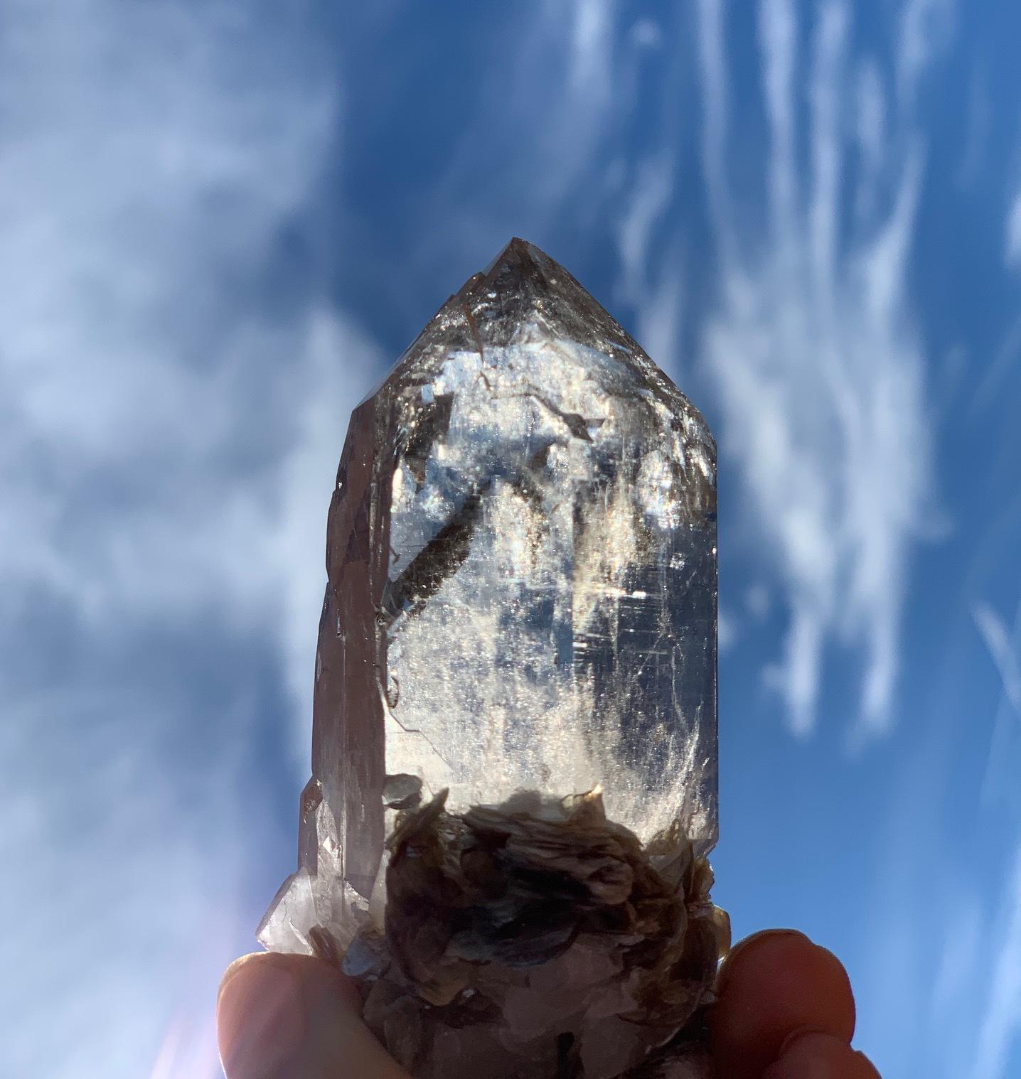Natural Citrine Stone 天然石 シトリン 大型