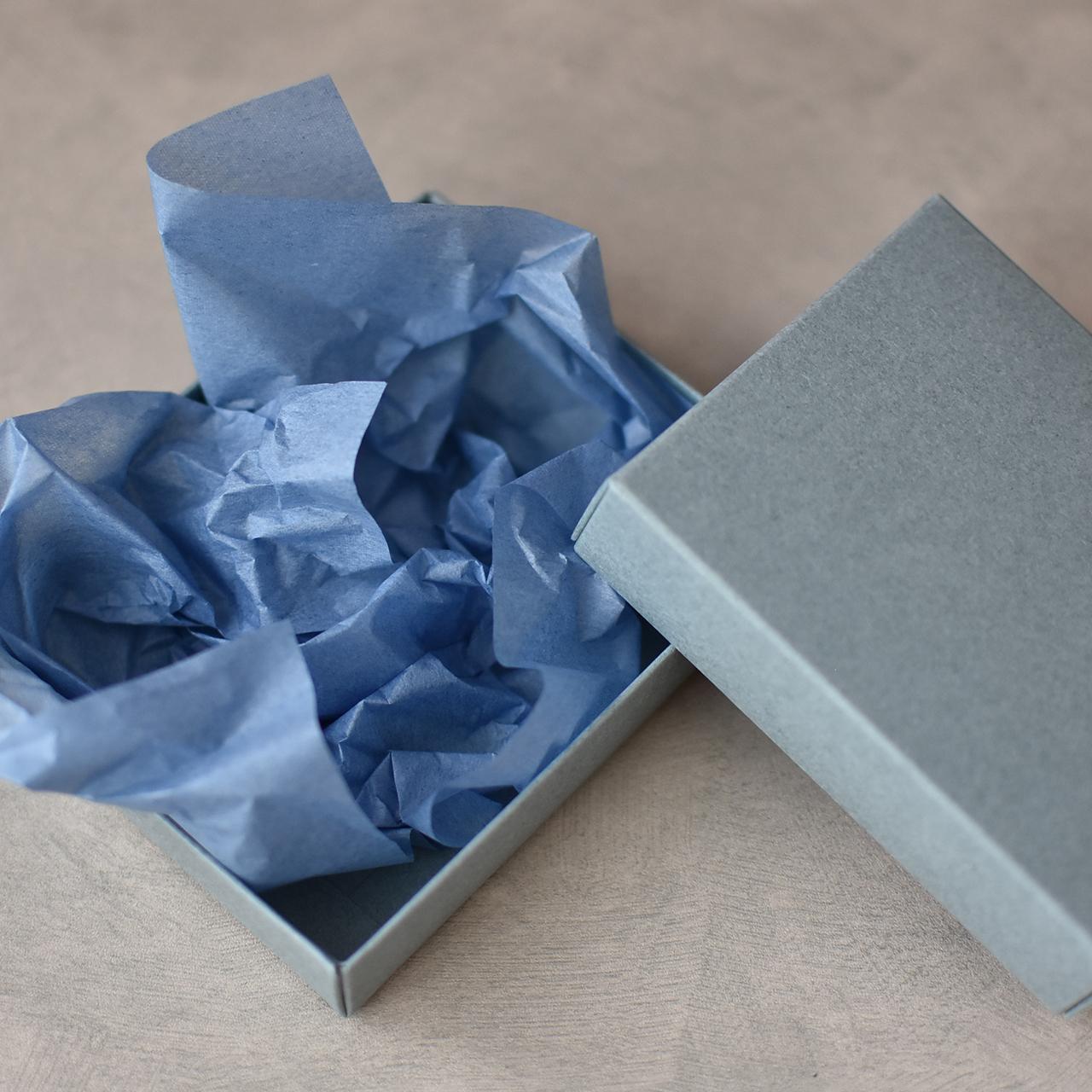 薄葉紙(薄紙) ブルー 【100枚入り】