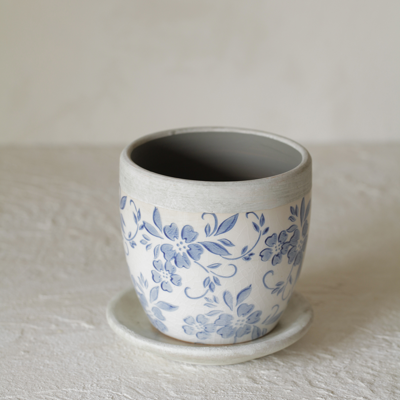 陶器<青花模様>