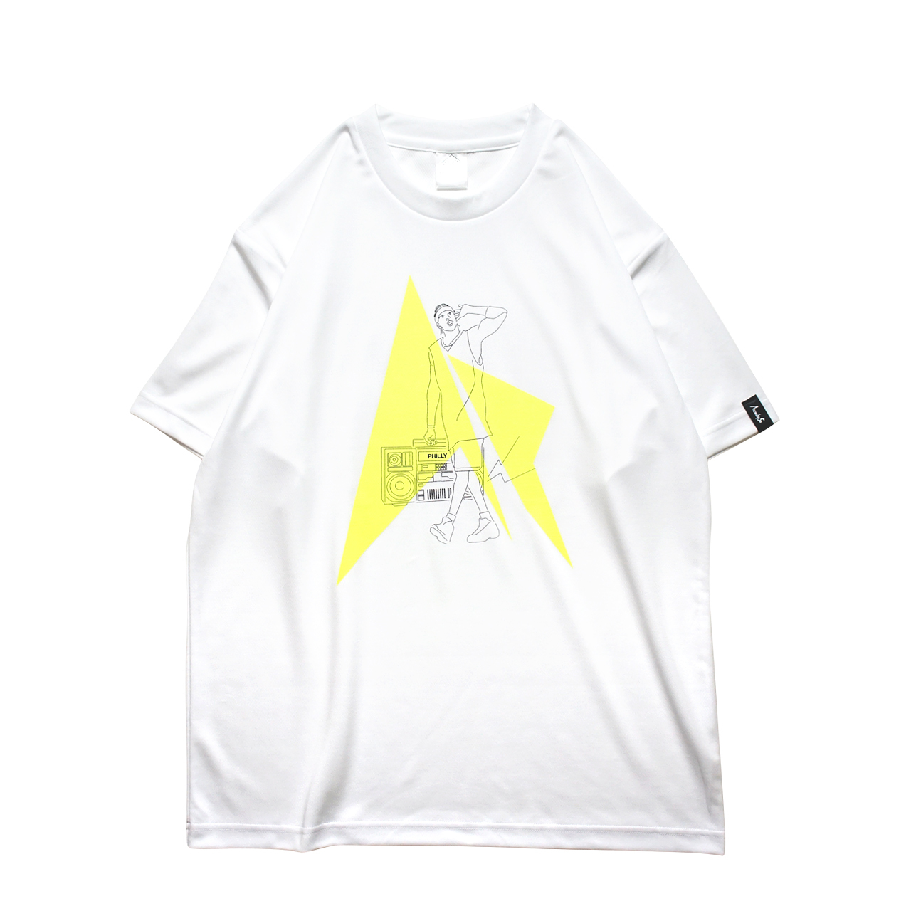 HipHop Philly S/S PL <White×Black×F.Yellow> - 画像1