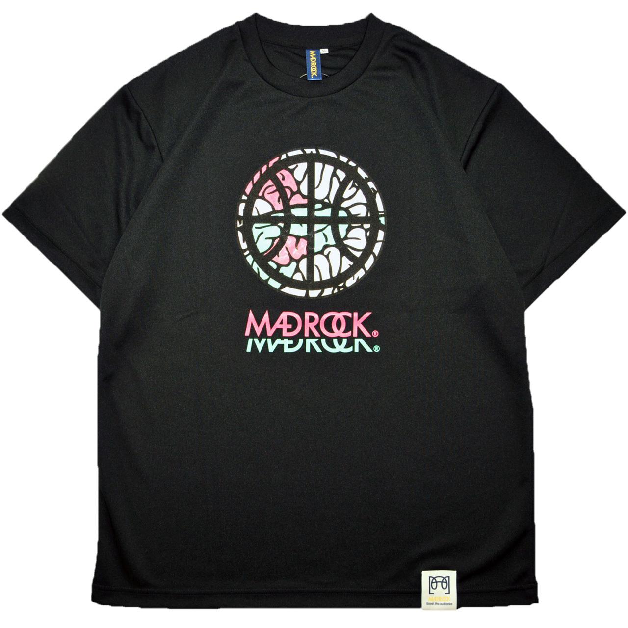 マッドロック - インテンションボール - Tシャツ / ドライタイプ / ブラック / MADROCK - Intention Ball - TEE