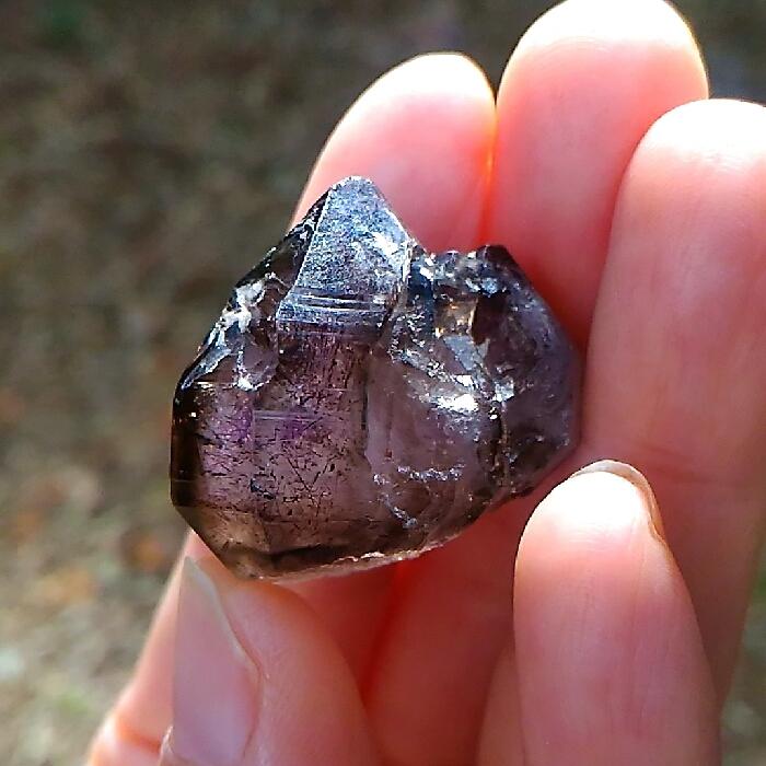 ツヤ黒◆スーパーセブン原石◆ブラジル産
