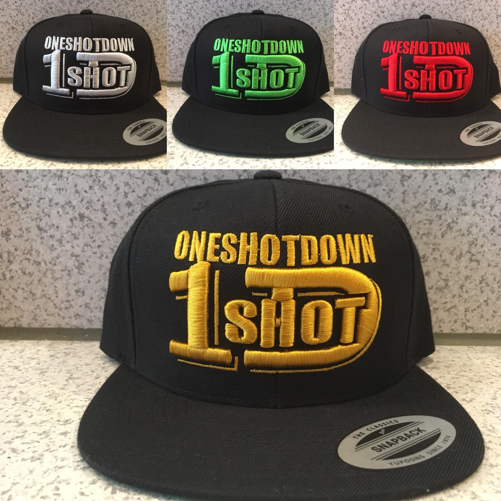 ONESHOTDOWNロゴ3D刺繍CAP - 画像5