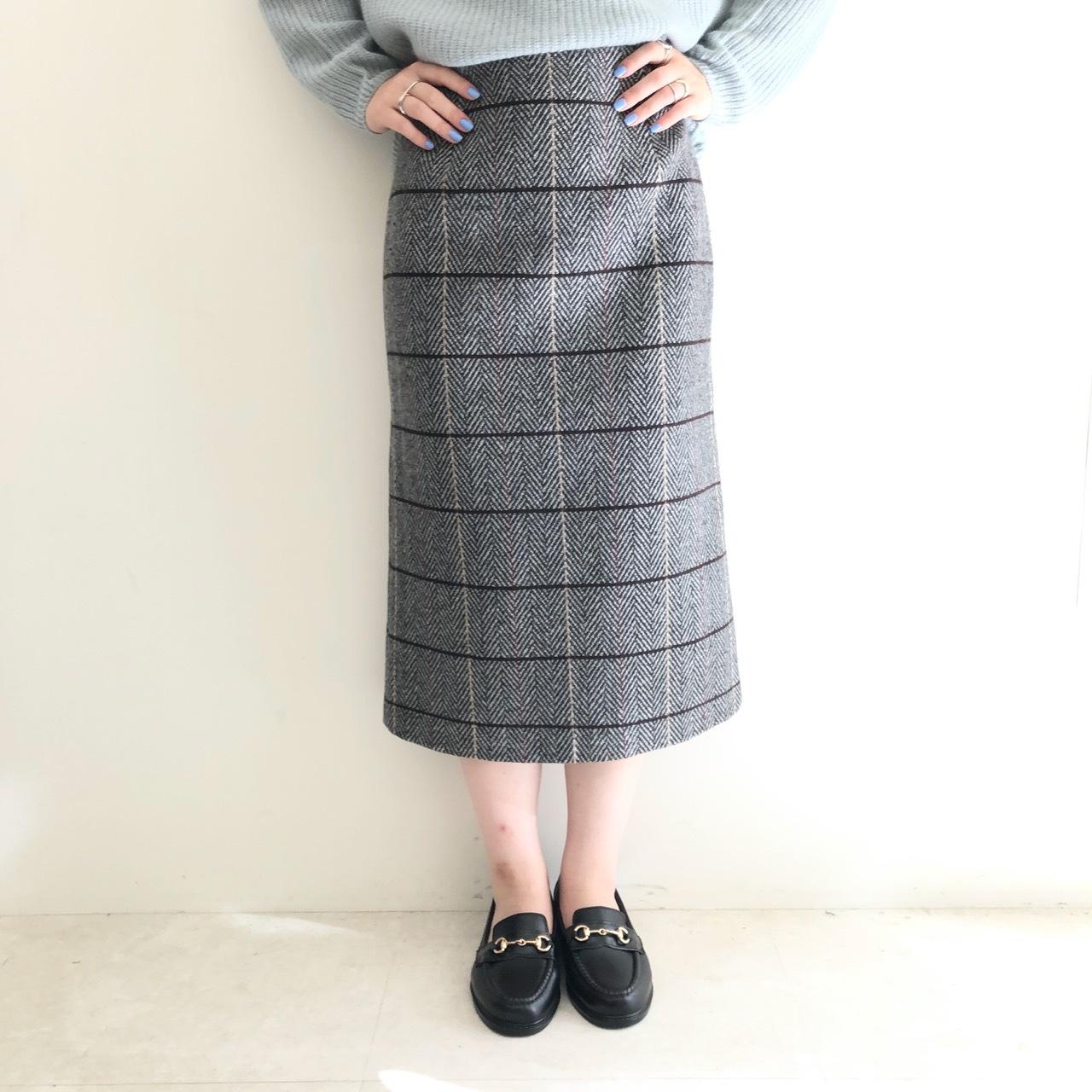 【 anana 】- n19a837 - ヘリンボーンチェックスカート
