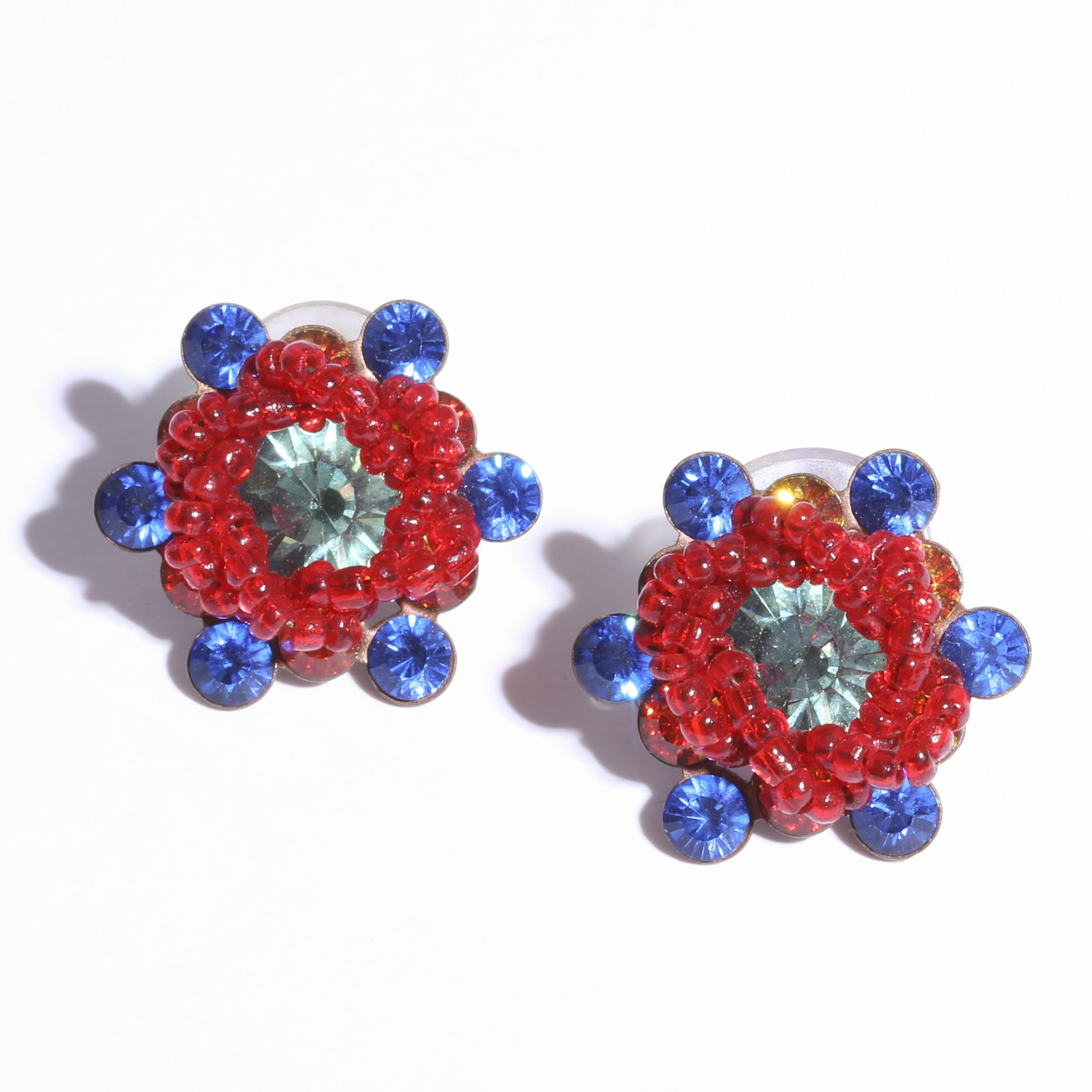 beads Flower  Pierce